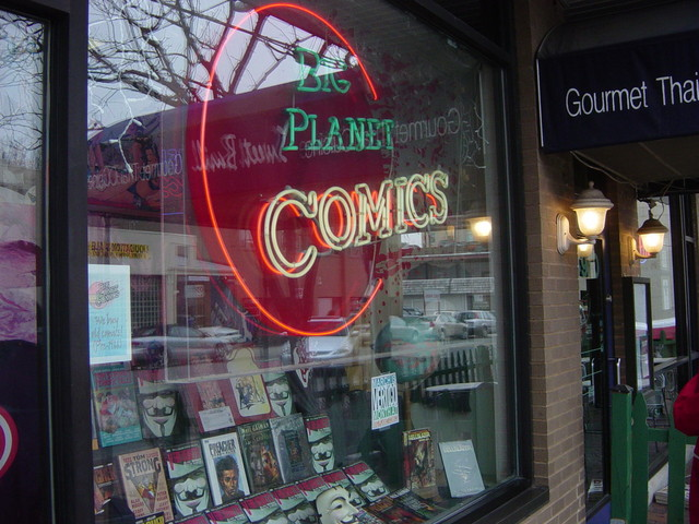 Cool comic store in Bethesda