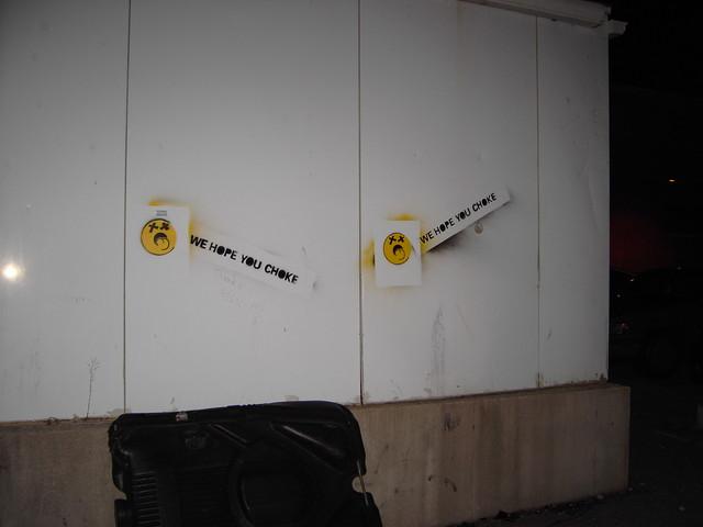 Militant Vegetarian Graffitti